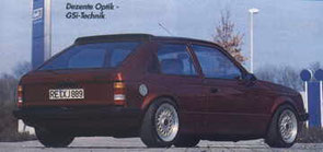 Opel mit GSI-Technik