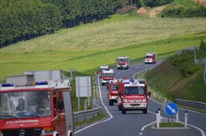 FuB-Zug 3 - Ost Abschnitt Rohrbach unterwegs. Foto: Andreas Pachner