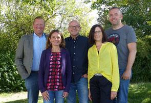 v.l.: Pach, Meier, Jülg, Schneider, Kleiber