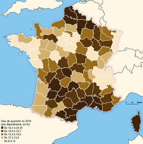 Source de l'image: Insee-DGFiP, revenus disponibles localisés 2010