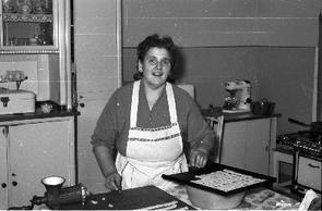 Die spätere Inhaberin Antonie Kunz