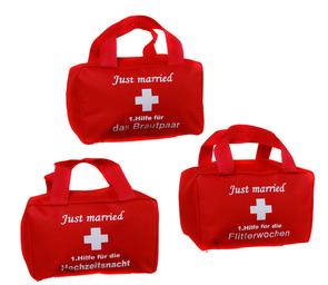"""Hochzeitsgeschenk Erste-Hilfe-Tasche"""""""