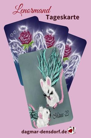 Lenormand Tageskarte Mäuse