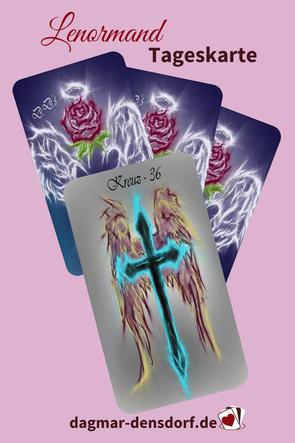 Lenormand Tageskarte Kreuz