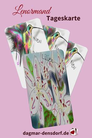 Lenormand Tageskarte Lilie