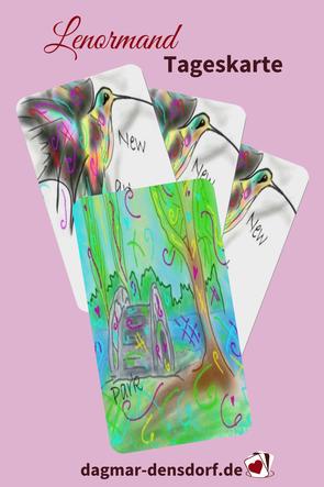Lenormand Tageskarte Park