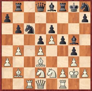 Hein - Margenberg: 22.Sf4? schwächte nach 22. ... Lxf4 23.gxf4 nur die schwarzen Felder, die Schwarz mit 23. ... Dh4! und 24. ... Sg6 direkt unter Beschuß nahm
