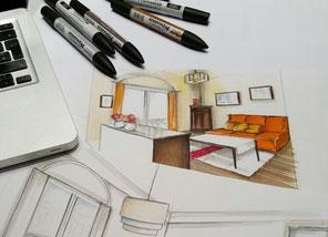 home staging et d coration d 39 int rieur dans le gard et l. Black Bedroom Furniture Sets. Home Design Ideas