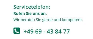 Grafik: Servicetelefon - rufen  Sie uns an - Hans Limbacher Dachdeckermeister GmbH, Frankfurt