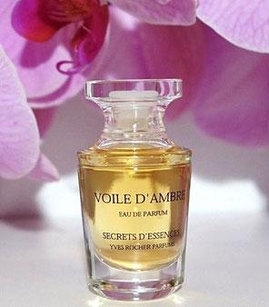 VOILE D'AMBRE - MINIATURE EAU DE PARFUM 5 ML, PRESENTEE SEULE