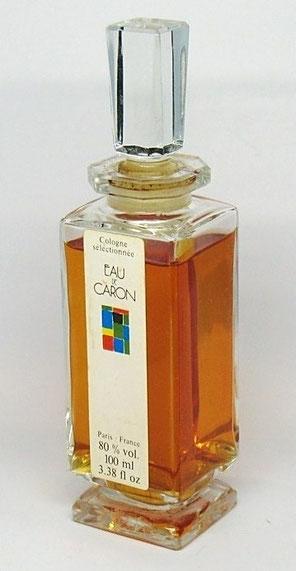 1980 - EAU DE CARON - EAU DE COLOGNE 100 ML