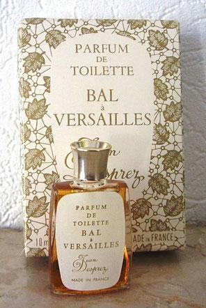 BAL A VERSAILLES - PARFUM DE TOILETTE 10 ML : CHANGEMENT DE BOÎTE ET DE MINIATURE