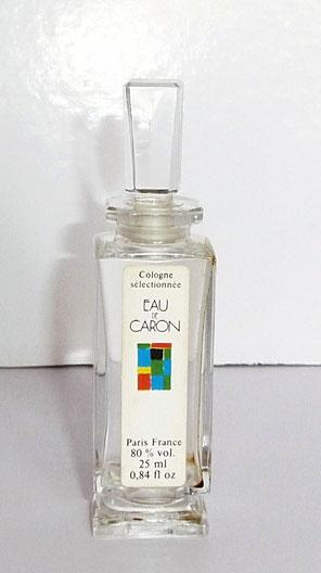 1980 - EAU DE CARON - COLOGNE SELECTIONNEE 25 ML