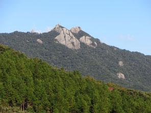 「白嶽」という山があります