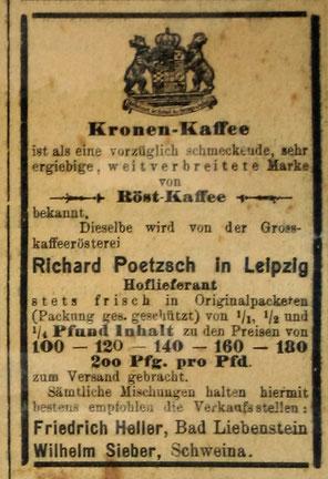 Stammgast 01.12.1900 - Quelle Monika Reich, geb. Claus