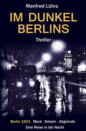 Berlin bei Nacht in den zwanziger Jahren.