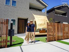 フェンス、目隠しフェンス、デザイナーズパーツ、列柱、施工例