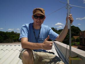 Instalação da Antena 3x5/8 VHF