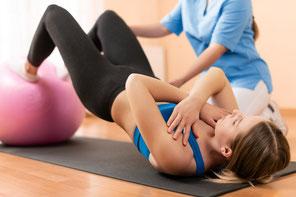 Beckenbodengymnastik Wellsana Basel Physiotherapie