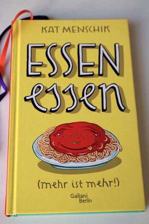 Kleines Kochbuch mit wunderschönen Illustrationen