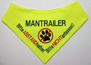 Mantrailer Halstuch, Suchhund, Rettungshund