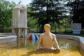 OmoGirando il Parco Sempione - Fontana dei Bagni Misteriosi (De Chirico)