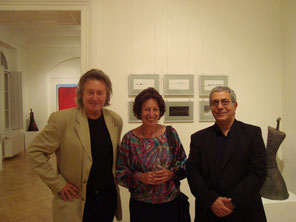 Mit Heide Breuer,Assad Tabadabai (Kunsthaus Baden 2009)