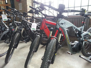 e-Bikes bei e-motion Worms