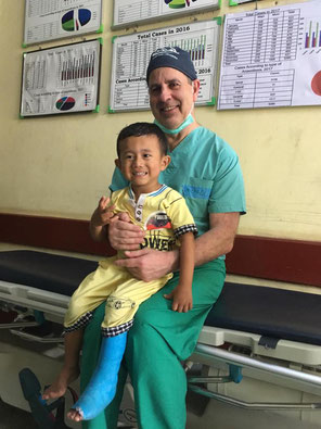 Dr. MIchael Schmidt in Myanmar
