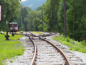 Spoorlijntje bij Reichenau