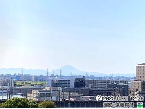 青空の富士山