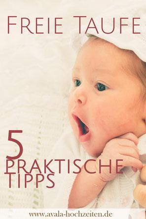 5 praktische Fragen zur Freien Taufe - Taufrednerin Traurednerin Kira Nothelfer Berlin Brandenburg
