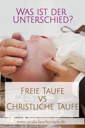 Unterschied Freie Taufe und Christliche Taufe - Taufrednerin Traurednerin Kira Nothelfer Berlin Brandenburg