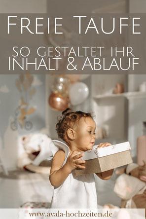 Was passiert bei einer Freien Taufe? Ablauf und Ideen von Taufrednerin Traurednerin Kira Nothelfer Berlin Brandenburg