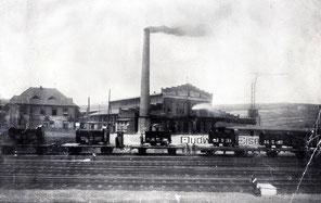 dudweiler, industrie, eisenbauanstalt, 1900, leffer gmbh, tierbachtal