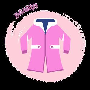 пальто и плащи для девочек