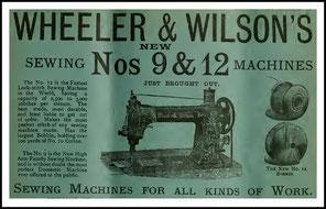 1889 The Sewing Machine Gazette