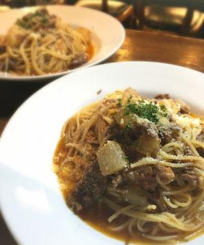 12月29日(金)柔らか牛すじ肉と佐賀産里芋のトマトソース