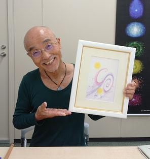 秋山峰男さんの魂の肖像画