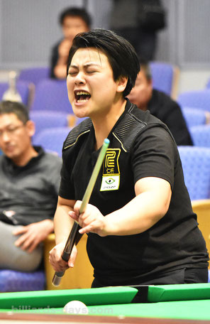 Chen Ho Yun from Taiwan won 2016 All Japan Championship Women's Div.