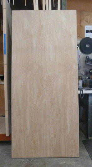 Solid Cire Birch Door