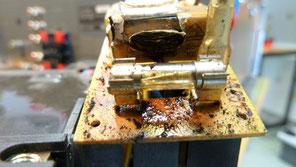 explodierter Kondensator im Netzteil.....