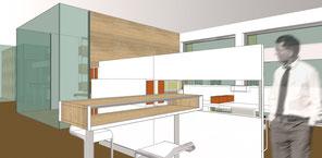 ehemaliges nixdorf gebäude drahtler architekten planungsgruppe dortmund visualisierung bürogebäude b1 neu umbau
