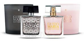 Guido Maria Kretschmer a créé sa première collection de parfums PURE – en exclusivité avec LR