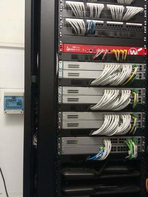 Rack para sistema centralizado IP AXES en modo Wiegand