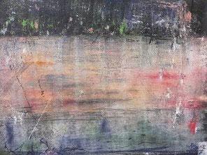 Wasser 1, Pastell auf Papier, 50 x 70 cm, 2007
