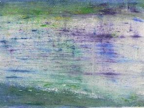 Wasser 3 , Pastell auf Papier, 50 x 70 cm, 2007