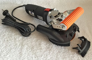 Levigatrice frontale a secco - Front sander dry