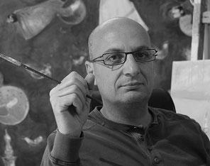 Portrait des Künstlers Boutros al Maari