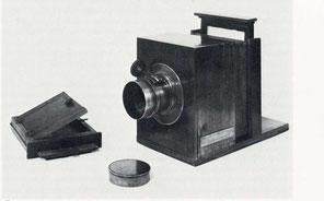 Erste Kamera von Daguerre